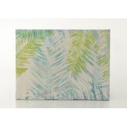 Toile feuilles 80x60 cm