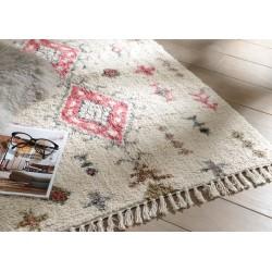 Tapis en coton cosy 120x180 cm