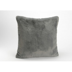 Coussin anthracite luxe...