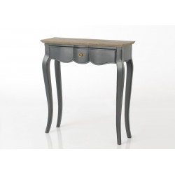 Petite console grise Maddy