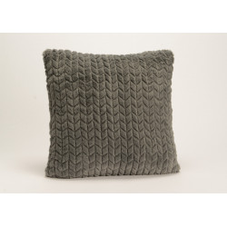 Coussin gris anthracite...