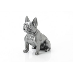 Bulldog français argenté