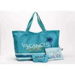 Sac de plage Vacances addict