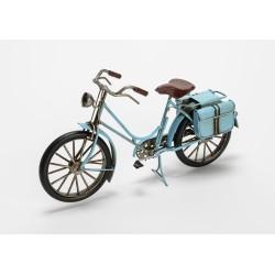 Vélo vintage bleu en métal...
