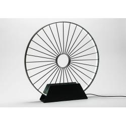 Lampe de table led roue de...