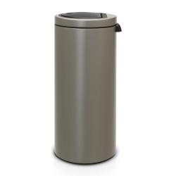 Touch bin platinum 30 litres