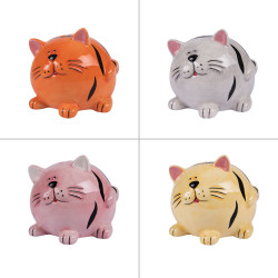 Tirelire chat 9.5 cm (1...