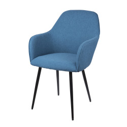 Fauteuil gabin color bleu