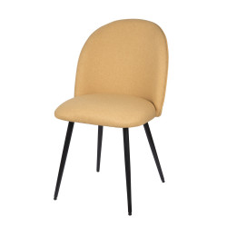 Chaise beetle jaune