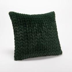 Coussin Chevron vert