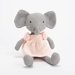 Peluche Liliane l'éléphant