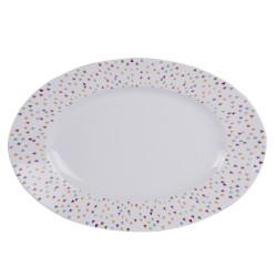 Plat ovale Manaos 35 cm