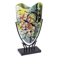Vase onde Adachi 22x37 cm