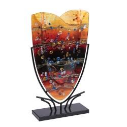 Vase onde Fusion 29x48 cm