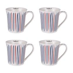 Coffret de 4 mugs 35 cl...