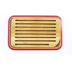 Planche à pain Rouge 28x18
