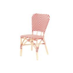 Chaise de bistrot Rouge