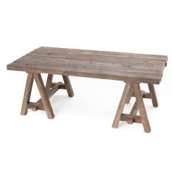 Table basse en bois recyclé...
