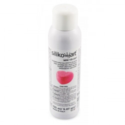Spray alimentaire velours rose