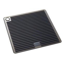 Manique en silicone carré noir