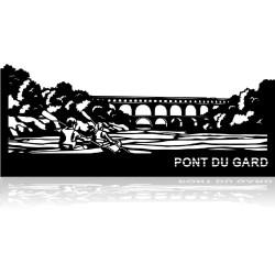 Plaque en métal Pont du...