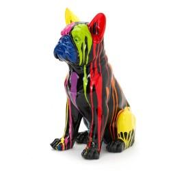 Bulldog Yuki Trash noir et...