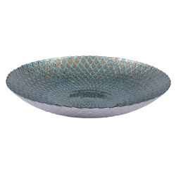 Coupe 33cm Trevi Turquoise