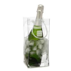 Seau ice bag - transparent