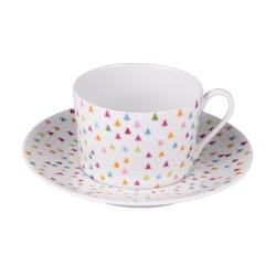 Tasse à thé 22 cl avec...