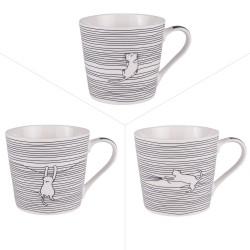 Mug Filo cats 40 cl (lot de 3)
