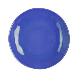 Assiette plate Hawai bleu...