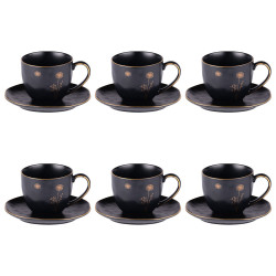 Coffret de 6 tasses à thé...