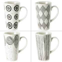 Coffret de 4 mugs palawan...