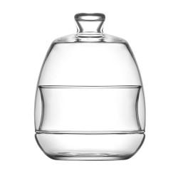 Bonbonnière en verre 25.5 cl