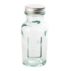 Pot en verre recyclé avec...