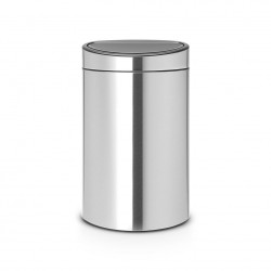 Touch bin new matt steel...