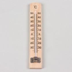 Thermomètre intérieur en bois