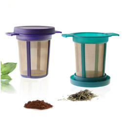 Set de 2 filtres à thé avec...