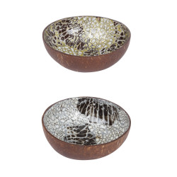Coupelle coconut or argent...