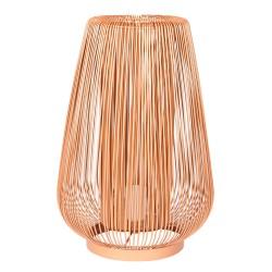 Lampe ambiance cuivre 40 cm