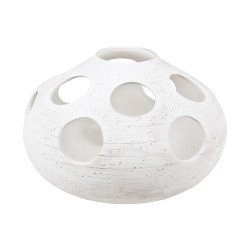 Lampe ronde 24 cm astre sable