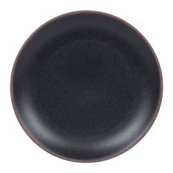 Assiette plate darkstone 27...