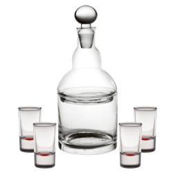 Service 7 pieces liqueur...