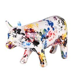 Tirelire vache granito h18 cm