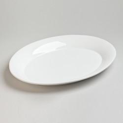 Plate ovale etna blanc 40 x...