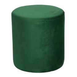 Pouf joye velours 40 cm vert