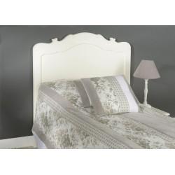 Tête de lit blanc cassé en...