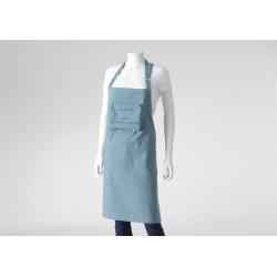 Tablier bleu en coton Cook