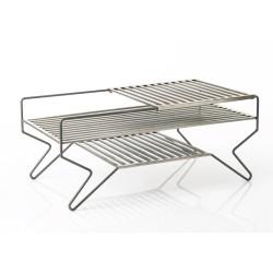 Table basse en métal grille...