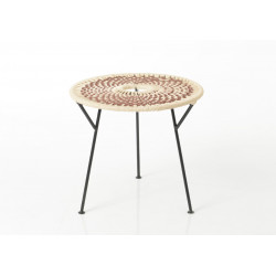 Table basse marron Baya 50 cm
